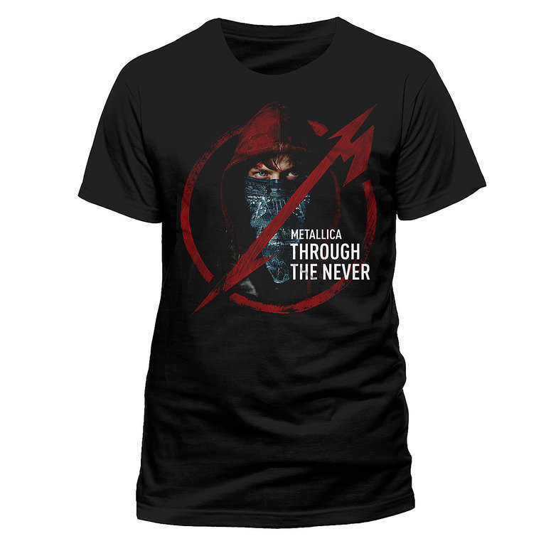METALLICA - Through The Never Logo (T-Shirt)