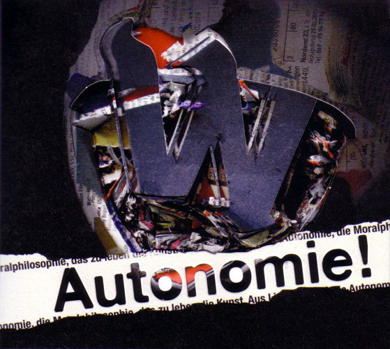 DER W - Autonomie! (Deluxe Edition) CD