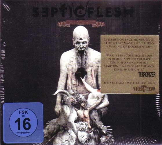 SEPTICFLESH - The Great Mass (Limited Edition) CD+DVD